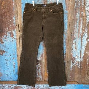 Ralph Lauren Brown Corduroy Bootcut Pants